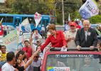 Em Minas, Dilma rebate cr�ticas de Serra ao Enem