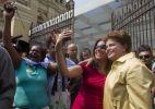 Dilma visita Museu da L�ngua Portuguesa (SP)