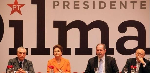 Dilma Rousseff, candidata do PT à Presidência, lança seu programa de governo em SP