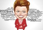 Nuvem de palavras: Veja os termos mais usados no primeiro discurso de Dilma ap�s vit�ria