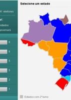 Raio-X: Infogr�fico mostra que partidos elegeram mais governadores pelo pais