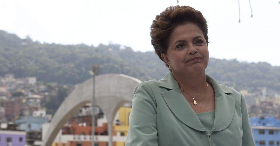 Dilma na Rocinha