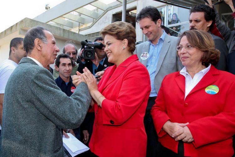 Dilma em Florianópolis