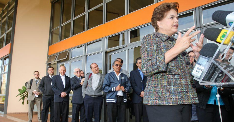 Dilma na CNBB