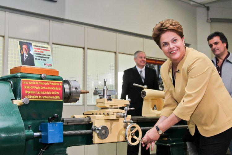 Dilma em São Paulo