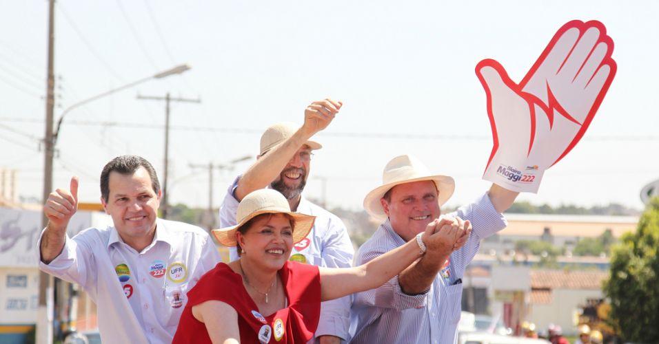 Dilma no MT