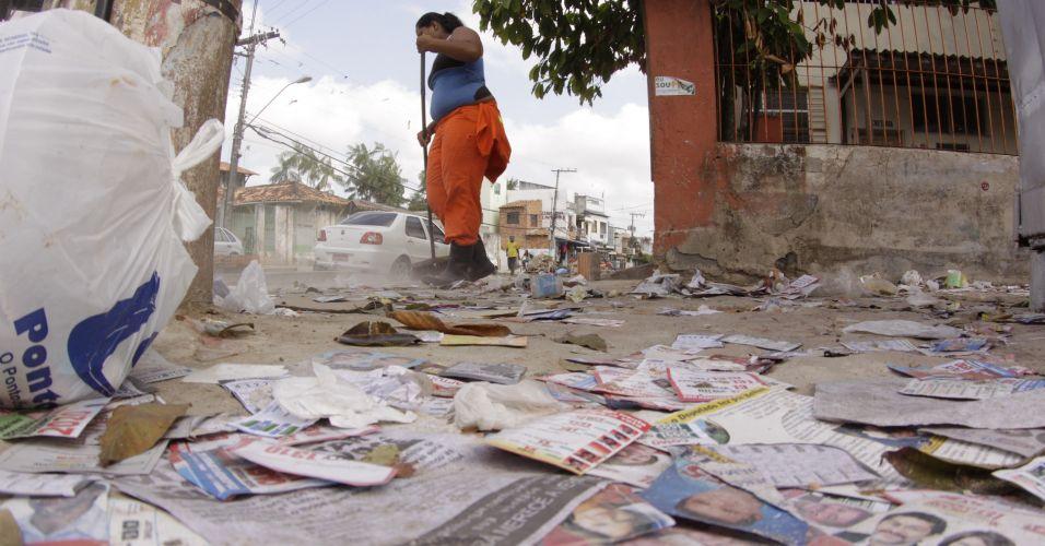 Lixo eleitoral no Pará