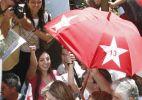 Dilma faz carreata em Curitiba, no Paraná