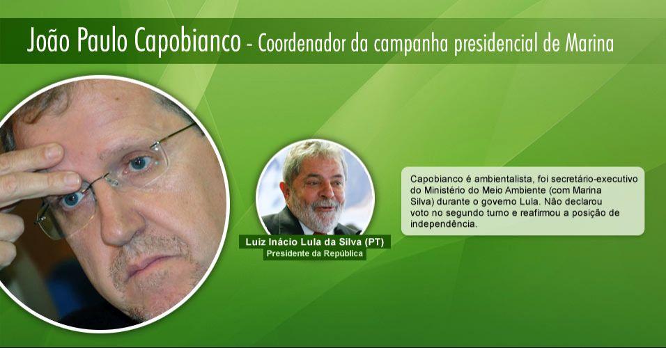 João Paulo Capobianco - Coordenador da campanha de Marina Silva