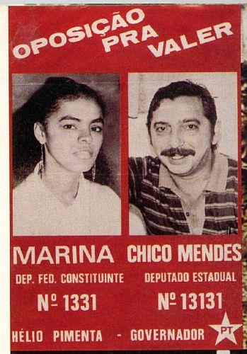Junto de Chico Mendes