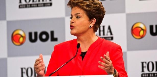 Dilma Rousseff, candidata do PT à sucessão presidencial