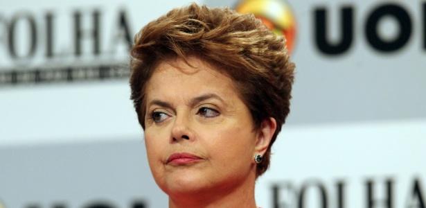 A ex-ministra Dilma Rousseff disse que o câncer é visto com preconceito no Brasil