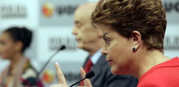 Dilma Rousseff e Marina Silva acirraram o tom das críticas contra José Serra; veja imagem