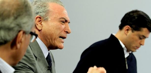 Candidatos à vice-presidência participam de debate Folha/UOL