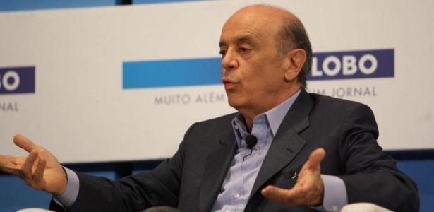 José Serra (PSDB) participa de sabatina promovida pelo jornal O Globo