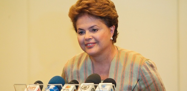 Candidata deu entrevista coletiva em um hotel em Copacabana horas antes do debate final de campanha, promovido pela TV Globo